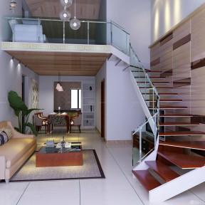 80复式楼装修效果图 小户型家装图片
