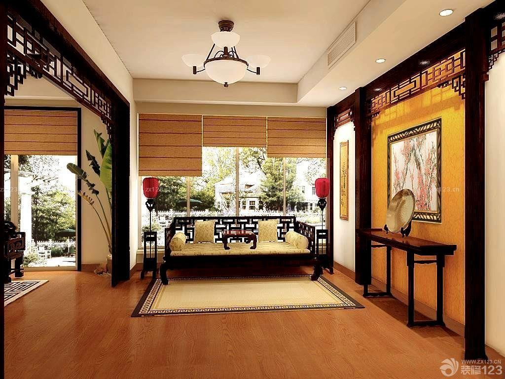 中式小别墅室内装修效果图大全