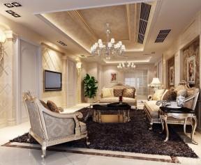 欧式电视墙图片 房子客厅装修效果图图片