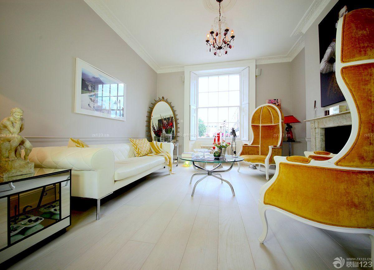 简约室内欧式风格装修效果图图片