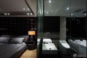 黑白室内装潢 卧室装潢设计
