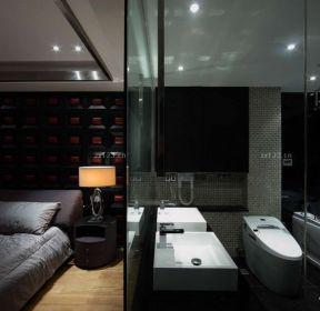 黑白室內臥室裝潢設計-每日推薦