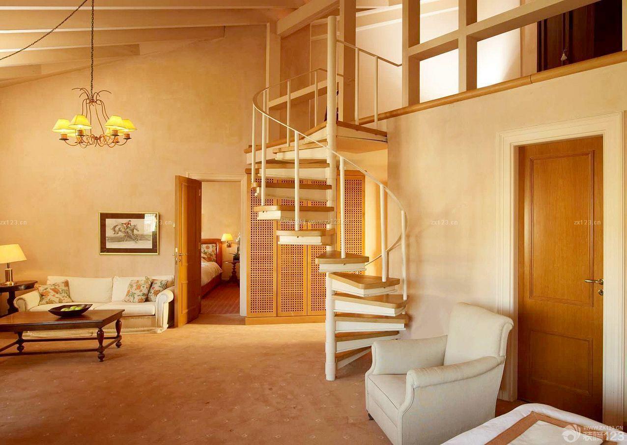 复式楼室内楼梯