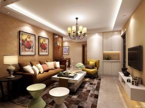 80平米裝修案例 兩室兩廳裝修效果圖