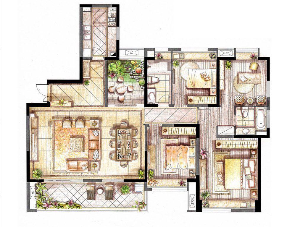 长16宽5米房子设计图展示