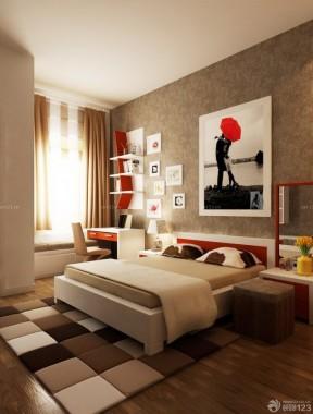 80平方房子裝修圖片 主臥室裝修效果圖片