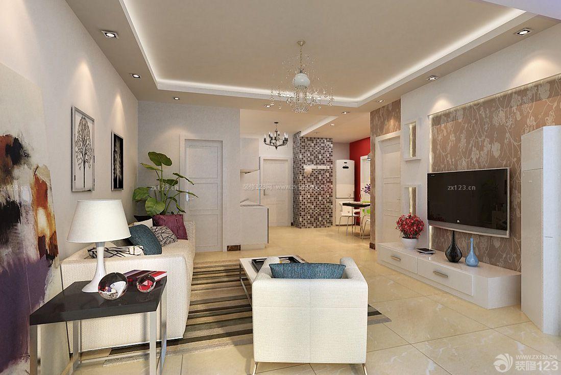 小三室80平米房屋装修设计效果图