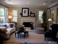 古典風格裝飾客廳裝修設計圖