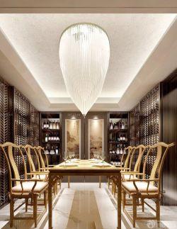 三室兩廳餐廳吊燈裝修效果圖片