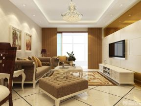 三室兩廳房屋裝修效果圖 歐式客廳裝修