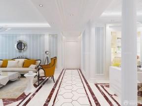 三室兩廳房屋裝修效果圖 波打線裝修效果圖片