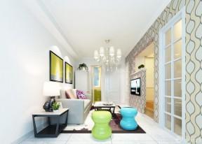 三室兩廳房屋裝修效果圖 小凳子裝修效果圖片