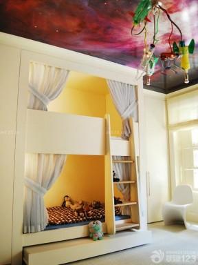 兒童房間效果圖 高低床裝修效果圖片