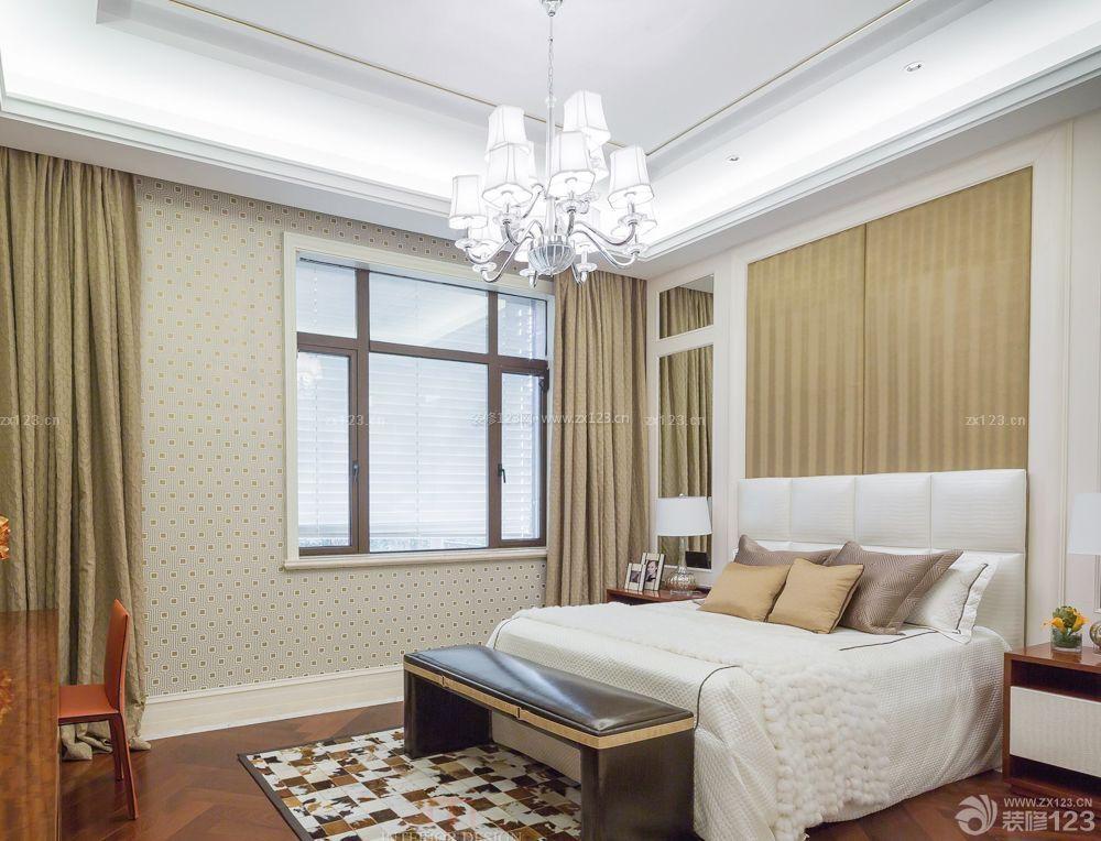 现代房间室内石膏板吊顶装修效果图片