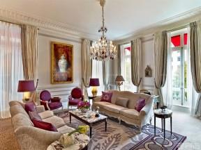 三居二手房 歐式沙發裝修效果圖片
