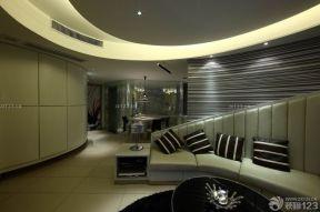 小客厅沙发 80平米小户型装修