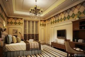 家庭室內裝潢 臥室電視背景墻效果圖