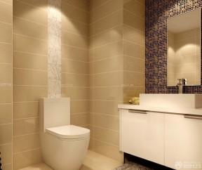 90平米2房2廳裝修效果圖 衛生間瓷磚效果圖