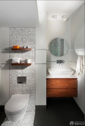 90平米2房2廳裝修效果圖 房子衛生間