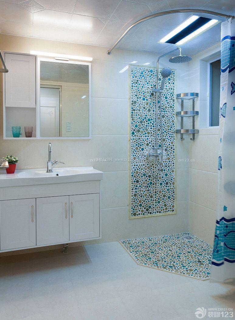 浴室装修效果图2010