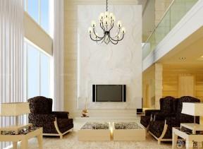 100平米三居室裝修 復式樓裝修設計圖