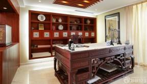 书房效果图 新古典风格样板房