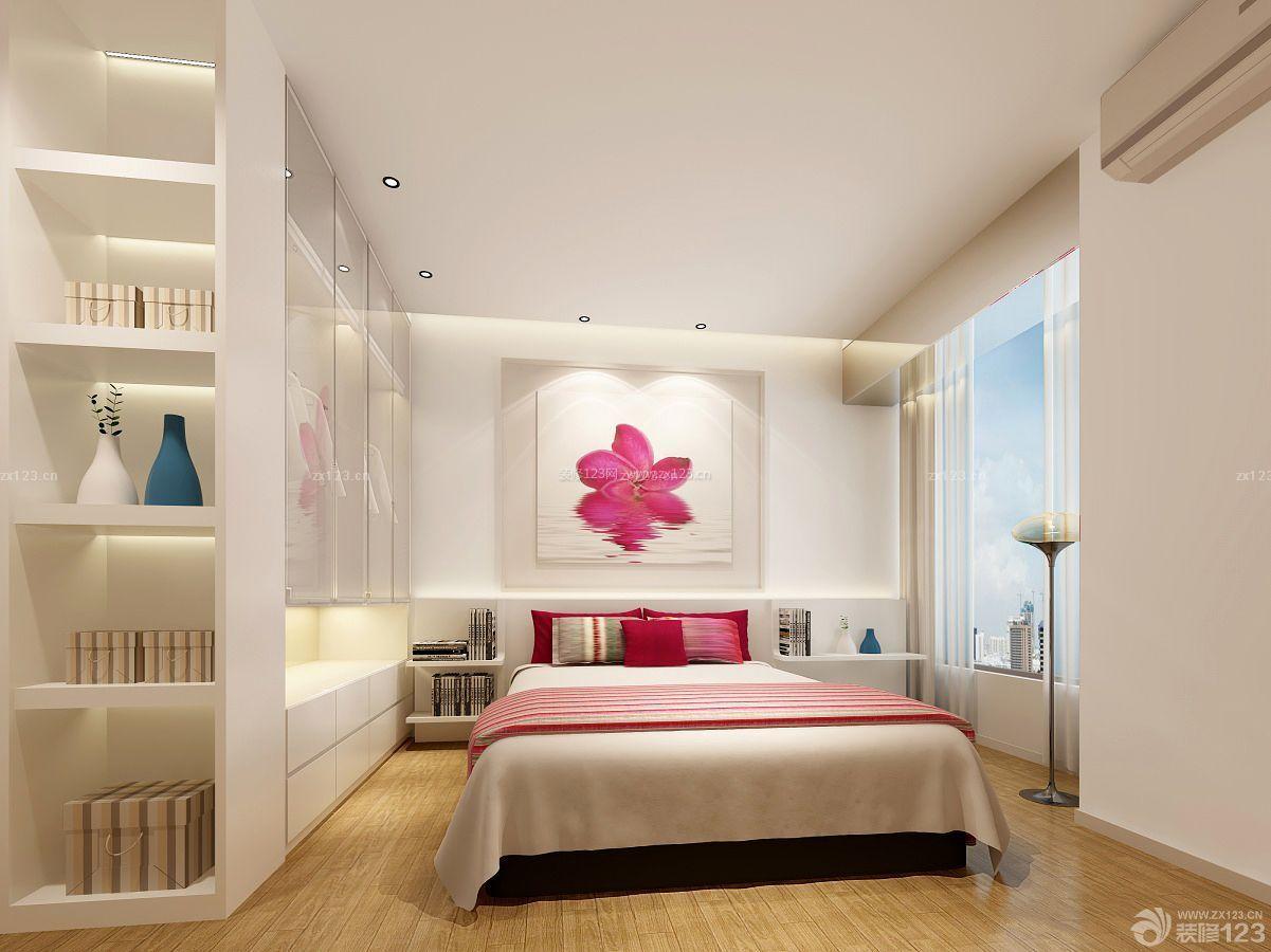 现代简约两居室卧室橱柜展厅设计装修图片图片