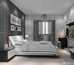 90平兩室兩廳主臥室裝修案例