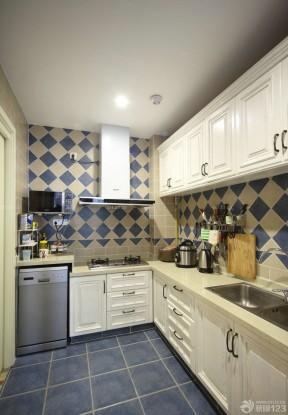 白色櫥柜裝修效果圖片 歐派整體廚房