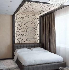 兩居室裝潢 臥室床頭背景墻