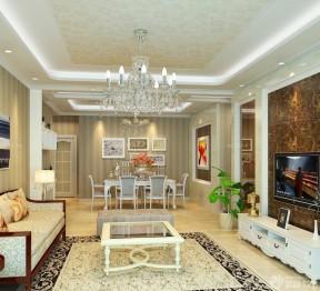 90平米家裝設計 簡歐式風格