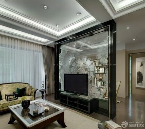 90平方長方形房子裝修圖片 客廳裝修圖片