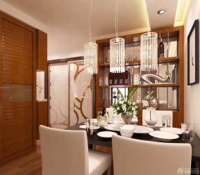 90平兩室兩廳裝修案例 餐廳裝修圖片
