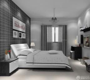 90平兩室兩廳裝修案例 主臥室裝修