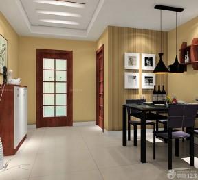 90平兩室兩廳裝修案例 餐廳裝修