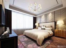 90平兩室兩廳臥室地毯裝修案例