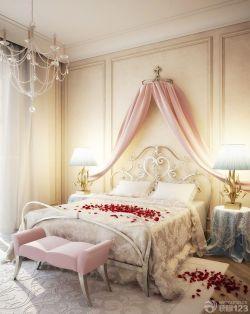 歐式90平兩室兩廳臥室裝修案例