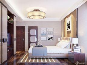 90平兩室兩廳裝修案例 吊燈裝修效果圖片