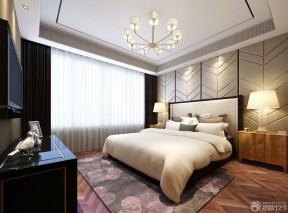 90平兩室兩廳裝修案例 臥室地毯
