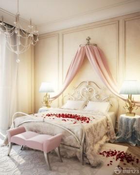 90平兩室兩廳裝修案例 歐式臥室裝修