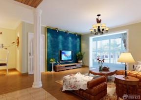 90平兩室兩廳裝修案例 客廳設計