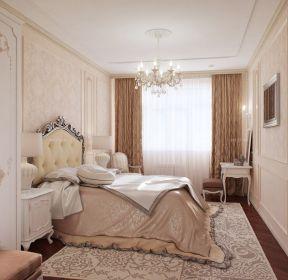 豪华两居室欧式卧室设计装修效果图-每日推荐