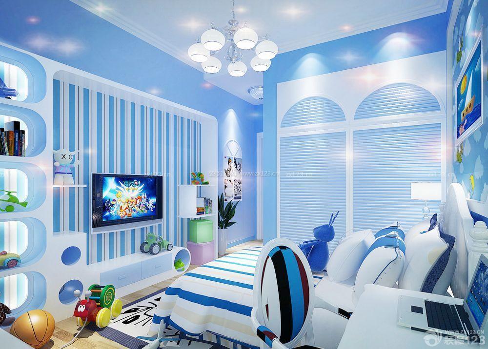 90平方儿童卧室装饰装修效果图图片