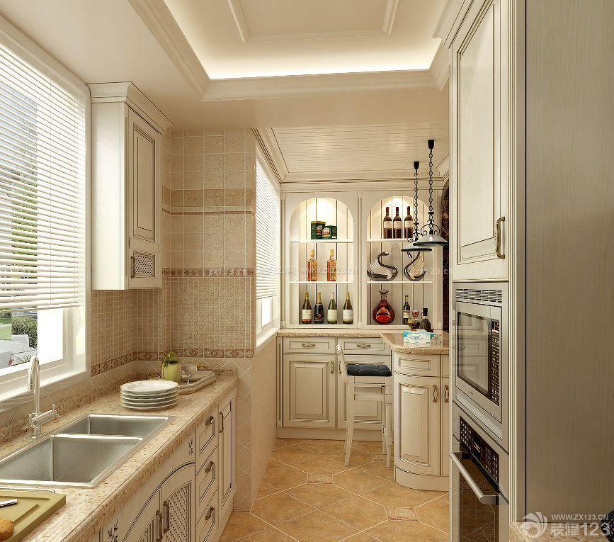 家装90平方米房屋厨房装修效果图