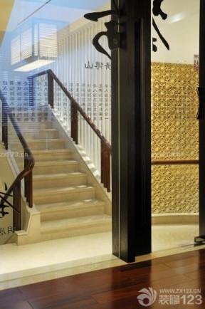 中式風格裝修 復式樓梯設計