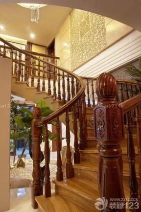 復式樓梯設計 中式風格裝修