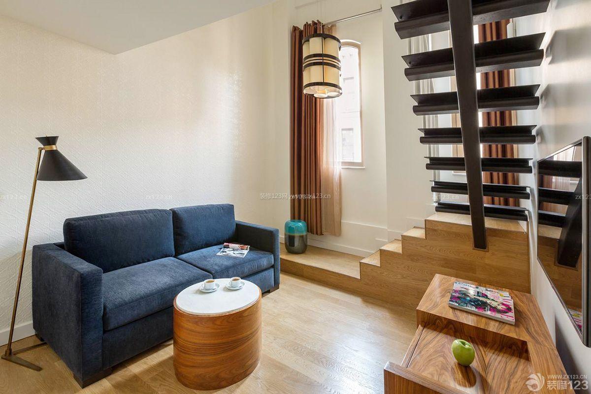 紧凑小户型复式楼梯设计图片大全图片