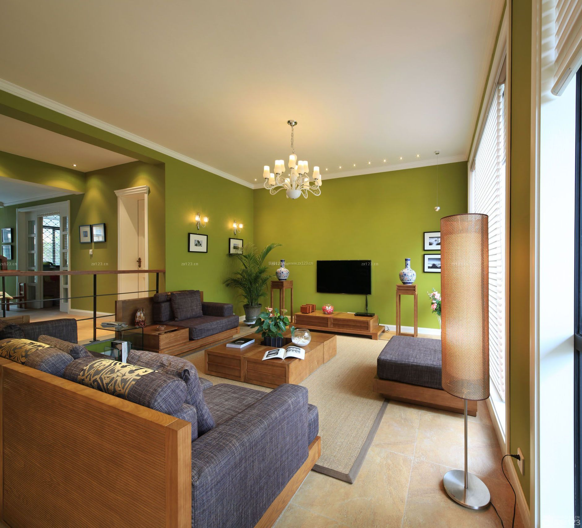 90平米复式小户型客厅装修图片大全图片