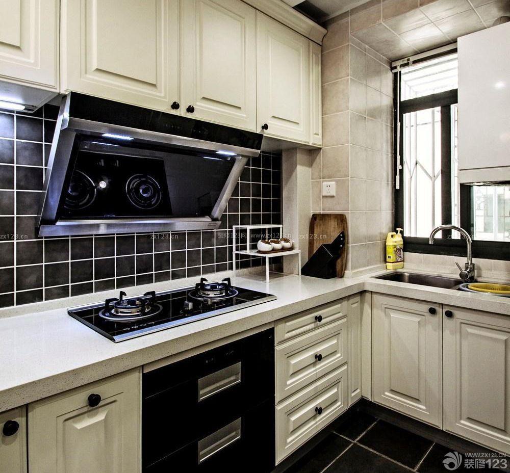 北欧风格家居90平米小户型厨房装修效果图
