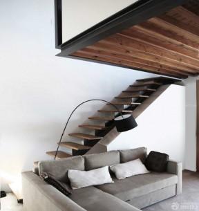 复式楼梯设计效果图 实用小户型装修图片